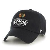 Chicago Blackhawks 2015 NHL Stanley Cup Finals 47 Brand Black Adjustable Hat Cap