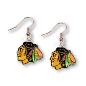 Chicago Blackhawks Women's NHL Sports Nickel Free Earrings