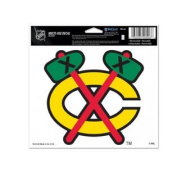 Chicago Blackhawks NHL WinCraft Sports Removable Bumper Sticker Ultra Decal