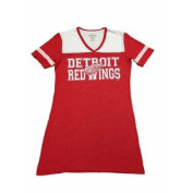 Detroit Red Wings SAAG Women's NHL Red Two Toned Short Sleeve T-Shirt