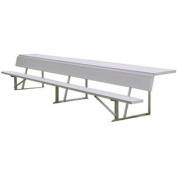 BEPS15 15 & ' Player & 's Bench with Shelf for Outdoors