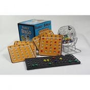 Family Bingo Set with Shutter Slide Cards