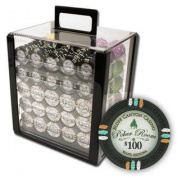 PCS-3306A 1000Ct Claysmith Gaming Bluff Canyon Chip Set in Acrylic
