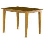Shaker Pub Table with 36 x 48 Solid Top in a Caramel Latte Finish