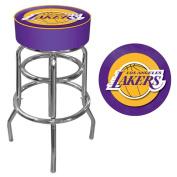 NBA Los Angeles Lakers Padded Swivel Bar Stool