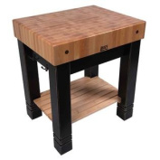 Butlers Block Table (Barn Red)