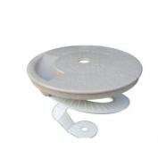 Critter Skimmer 25cm Round Pool Skimmer Cover, Tan