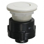 Tecmark White Flush Mount Button