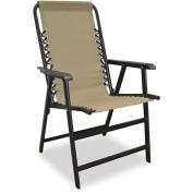 Caravan Sports Suspension Folding Chair Beige