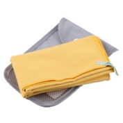 Quick-drying Antibacterial Outdoors Camping & Hiking Towel With Buggy Bag, Yellow