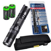 NITECORE P12 950 Lumens high intensity CREE XM-L2 LED long throw tactical flashlight with Smith & Wesson PathMarker LED