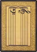 Joy Carpets Kid Essentials Music & Special Needs Fully Staffed Rug, Sand, 0.9m x 1.5m