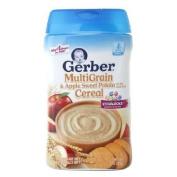 Gerber Multigrain Cereal, Apple & Sweet Potato 240ml