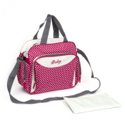 Baby Nappy Nappy Changing Tote Mummy Bag,Red