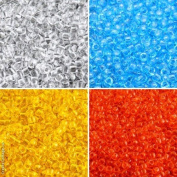 4x10gr, 4 colours Unique Set 7SMB001, Matubo 7/0 (3.5 mm), Czech Glass Seed Beads, MB1000 MB1018 MB1022 MB1058