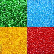 4x10gr, 4 colours Unique Set 7SMB005, Matubo 7/0 (3.5 mm), Czech Glass Seed Beads, MB1014 MB1018 MB1022 MB1024