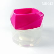 Alamould Moulds Clear Silicone Mould for Creating a Twisted Square Bangle/Bracelet