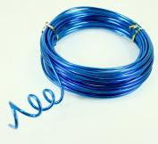 TURQUOISE Aluminium Wire Crafting, Floral or Jewellery Making embellishments 10 YDS