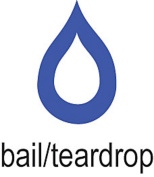 Cowdery Bail/Teardrop 4.5mmx3mm, Blue - WAX-282.70