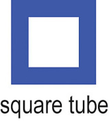 Cowdery Square Tube 4.0mm, Blue - WAX-282.32