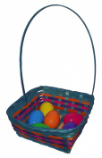 Easter Square Bamboo Basket Assortment-Includes 1; styles vary 39cm x 24cm x 11cm