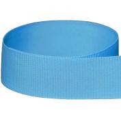 1cm Baby Blue / Light Blue Solid Grosgrain Ribbon - 100 Yards - USA Made -