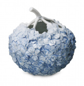 Royal Copenhagen Hydragne Vase, Blue 10cm