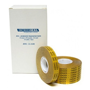 INCREDISEAL Adhesive Transfer Tape, 1.3cm x 36 yds, 2 mil, 12 Rolls/Case