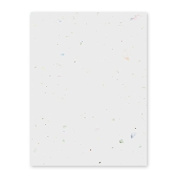 Grow-a-Note Plantable Seed Paper, 5 sheets, 33cm x 48cm , Confetti
