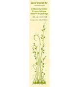 Joy Craft Border Grass Long Embossing Folder, 2.5cm x 15cm