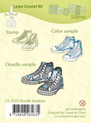 Joy Craft Doodle Clear Stamp Sneakers
