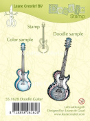Joy Craft Doodle Clear Stamp Guitar