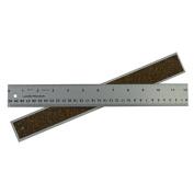 Alumicolor Ludwig Precision by 30cm Cork Backed Aluminium Straight Edge