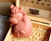 The Chinese Zodiac Mould for Soap,Ox