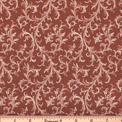 Quilting Fabric Royalty Rust/By the yard
