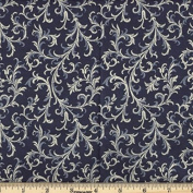 Quilting Fabric Royalty Navy/By the yard