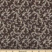 Quilting Fabric Royalty Chocolate/By the yard