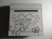 Ready to Colour Valentine Mailbox