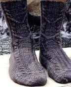 Irish Girlie Knits Uncle Frank Sock Knitting Pattern