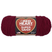 Red Heart E300.0376 Super Saver Economy Yarn Burgundy