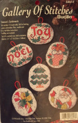 Gallery of Stitches Counted Cross Stitch Ornaments Kit- Season's Sentiments