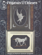 Pegasus and the Unicorn, Designs by Stephanie Seabook Hedgepath, Leaflet 304, 1989