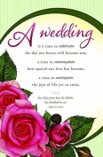 Warner Press 30160X Bulletin - W - Wedding Is A Time To Celebrate