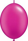 PIONEER BALLOON COMPANY Quick Link Latex Balloon, 15cm , Pearl Magenta