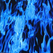 Dip Wizard Dip Demon Blue Flames Hydrographic Film Water Transfer Hydro Dipping