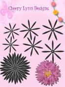 Cheery Lynn Designs Chrysanthemum Strip Die