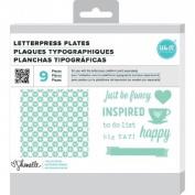 Lifestyle Letterpress Plates - Shimelle True Stories