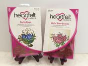 Heartfelt Creations Bundle Die+Stamp Bella Rose Collection, HCD712 + HCPC3394