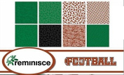 Reminisce - Football Scrapbook Papers Set