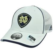 NCAA Notre Dame Fighting Irish Mesh Adidas Flex Fit Curved Bill OSFM Cap Hat
